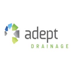 Adept Drainage logo